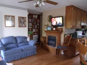 Beaver Lake Vacation Rental Living Area