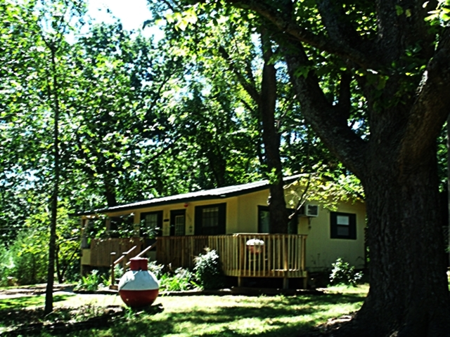 Outside at Cute Little Cottage The Perfect Location to Be On Beaver Lake In Rogers AR