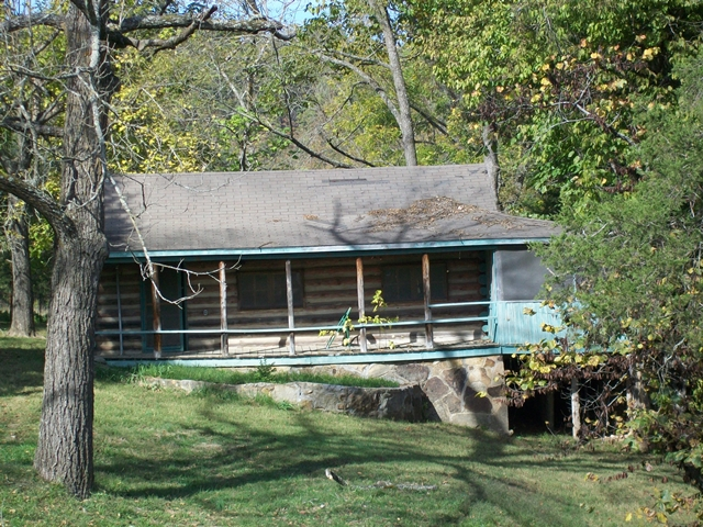 War Eagle  log home