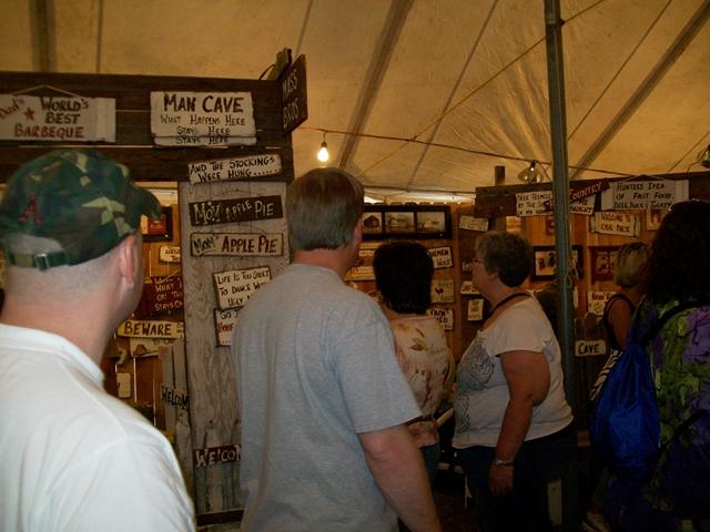 Shopping At War Eagle Craft Fairs